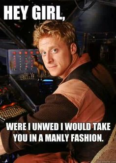 """Firefly/Serenity- Wash ---  """"'Cause I'm pretty?"""" """"'Cause you're pretty."""""""