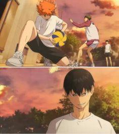 Wahhaha Take That - Haikyuu! Kageyama X Hinata, Kagehina, Kenma, Haikyuu Volleyball, Volleyball Anime, Manga Haikyuu, Manga Anime, Tsurezure Children, Iwaizumi Hajime