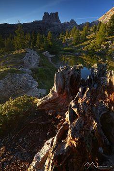 Dolomites, Italy Landscape