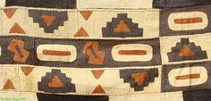 Kuba Raffia Appliqued Handwoven Textile African Sale | eBay