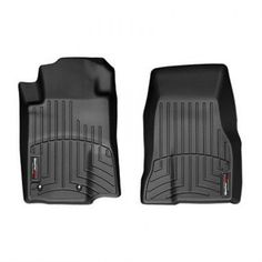 WeatherTech Custom Fit Rear FloorLiner for Toyota Prius (Black)
