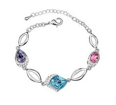 DT3-7191 BRACELET from New BRILLANTI Collection made with Swarovski Crystals $30