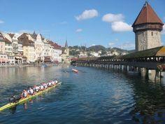 스위스 루체른 호수