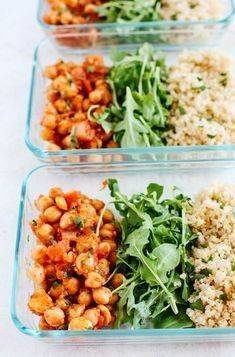 0a1a584b1c Spicy Chickpea and Quinoa Bowls. Spicy Chickpea and Quinoa Bowls perfect  for meal prep!  vegan  glutenfree  mealprep. Julie Mack · Packed Lunch
