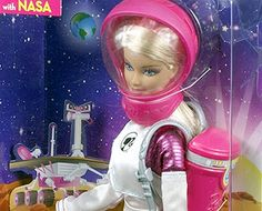 Mattel's Astronaut Barbie becomes a Mars Explorer with help from NASA   collectSPACE