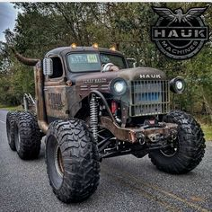 Rat Rod Trucks, Rat Rod Pickup, Rat Rod Cars, Jacked Up Trucks, Dodge Trucks, Diesel Trucks, Custom Trucks, Cool Trucks, Pickup Trucks
