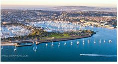 Spectacular view of Shelter Island and Mission Bay from the air by Leetal Elmaleh