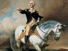 George Washington on horse