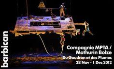 French Trampoline artist Mathurin Bolze - 'Du Goudron et des Plumes'