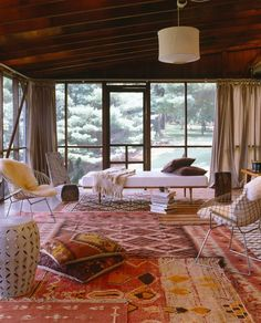 like smaller animal rug under chair looks good overlapping more traditional rug home decor pinterest traditional rugs living rooms anu2026