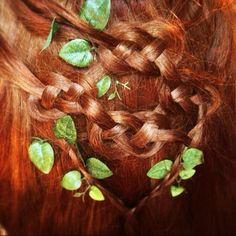 Pretty Hairstyles, Braided Hairstyles, Hairstyle Ideas, Celtic Braid, Renaissance Hairstyles, Viking Braids, Beautiful Braids, Hair Brained, Hair Dos