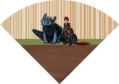 Cone de guloseimas Como treinar o seu dragão