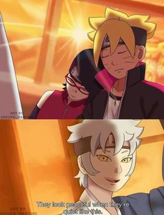 Is this even true? No i guess not. I think this is the scene from the latest ending of Boruto where the three of them were on a train, looking out of the window Naruto Shippuden, Sarada E Boruto, Naruhina, Sasuke, Anime Naruto, Naruto Fan Art, Rinne Sharingan, Couple Manga, Funny Naruto Memes