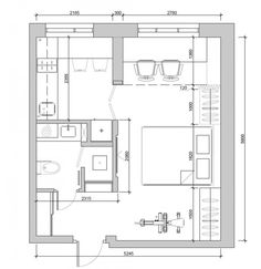 Tiny Apartment Floor Plans 4 super tiny apartments under 30 square meters [includes floor