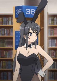 Seishun Buta Yarou wa Bunny Girl Senpai no Yume wo Minai Kawaii Anime Girl, Anime Girls, Manga Girl, Manga Anime, Deku Cosplay, Mai Sakurajima, Bunny Suit, Waifu Material, Beautiful Anime Girl