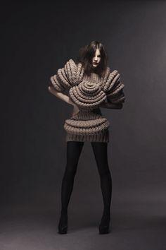 Sandra Backlund's innovative knitwear silhouettes