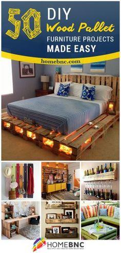 Best DIY Pallet Furniture Ideas