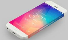 LCDnya sampe tumpah2 ke pinggir :D Astonishing Design of the Leaked iphone6