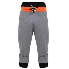 Mens 3/4 Jersey Shorts Casual Drop Crotch Capri Pants: Amazon.co.uk: Clothing