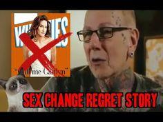 Transgender Sex Change Regret Testimony! Realizes God Made him a Male NO...