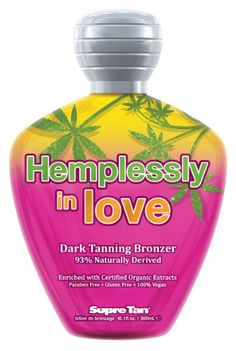 Supre HEMPLESSLY IN LOVE Dark Tanning Bronzer - 10.1 oz. -- Details can be found by clicking on the image.