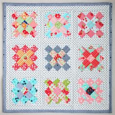Little Granny Mini Quilt Pattern |