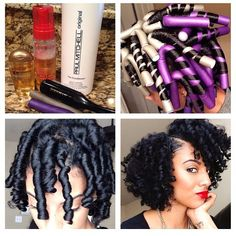 Check out this Flexi Rod video tutorial for relaxed hair and for those transitioning to natural hair. Flexi rods on natural hair makes a protective style, flexi rods on Relaxed Hair. Pelo Natural, Natural Hair Tips, Natural Hair Journey, Natural Hair Styles, Going Natural, Natural Hair Transitioning, Pelo Afro, Natural Hair Inspiration, Gorgeous Hair