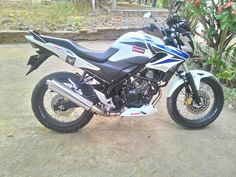Honda cb 150 r modif simple..