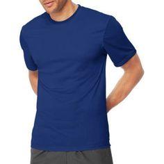 Hanes Sport Men's Short Sleeve CoolDri Performance Tee (50+ UPF), Size: Medium, Blue