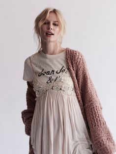 Almond Combo Mad About You Tank at Free People Clothing Boutique