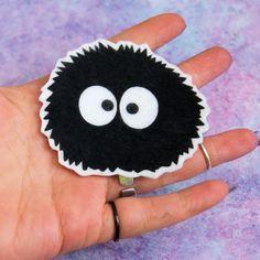 Totoro Soot Sprite Iron On Patch MTCoffinz by MTthreadz on Etsy