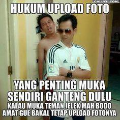 Hukum upload foto #GambarLucu