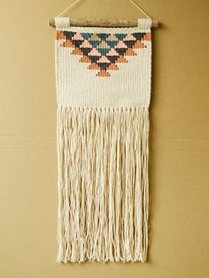EXTRA LARGE Geometric Hand Woven Weaving and Macrame Wall Hanging (boho macrame wall hanging) by ALIFERA on Etsy