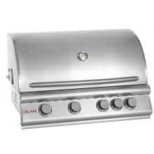 Best Gas Grill for the Money 2013. Blaze 32 Inch 4-Burner Built-In Natural Gas Grill With Rear Infrared Burner. #BBQGuys