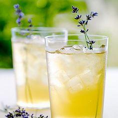 iced lavender green tea ... delightfully refreshing!