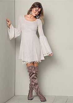 Sweater Dresses - Long Sleeve, Turtleneck, Knit & More