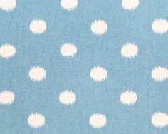 Ikat Dots Arctic/Soft Blue Natural