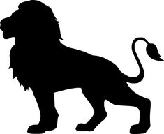 mohamed_hassan - Lion, Silhouette, Isolated, Animal 👉 If you find this image useful, you can make a donation to t - Lion Silhouette, Silhouette Tattoos, Silhouette Painting, Silhouette Clip Art, Art And Illustration, Free Illustrations, Hilograma Ideas, Animal Cutouts, Lion Art