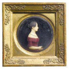 A collection of eight German wax miniature portraits 19th century   lot   Sotheby's