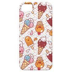 Icecream case by bora iPhone 5 cover