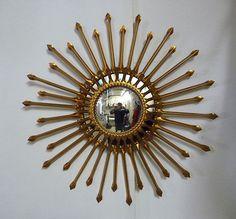 Miroir soleil oeil de sorci re mod le chaty an 70 ebay for Miroir soleil oeil sorciere