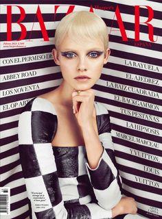 Гинта Лапина на обложке Harper's Bazaar España (фото 1)