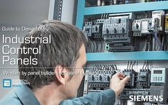 Guide to Design of Industrial Control Panels // by Siemens (photo credit…