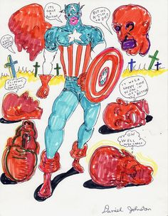 Daniel Johnston, Drawings, Illustration, Anime, Artists, Tattoo, Google Search, Image, Sketches