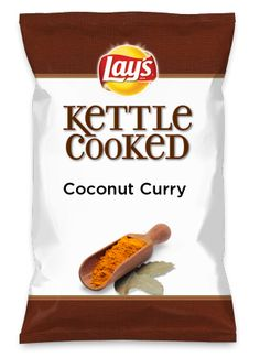 Wouldn't Coconut Curry be yummy as a chip? Lay's Do Us A Flavor is back, and the search is on for the yummiest flavor idea. Create a flavor, choose a chip and you could win $1 million! https://www.dousaflavor.com See Rules.