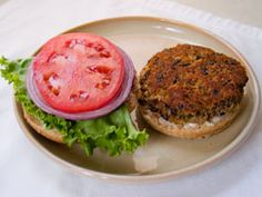 Quick Easy Black Bean Veggie Burger Recipe.    Our favorite vegan burger recipe.  Carrots can be used instead of celery 1:1.  Also liquid smoke can be added (1-2tbs).  I've never needed to add the hummus to this, the texture always seems exactly right without it.  These can be cooked on the grill on top of foil, but not directly on the grate.