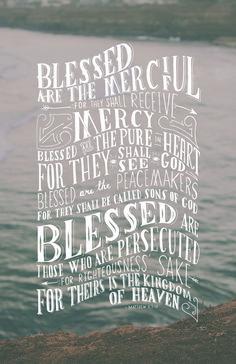 Memorize Matthew 5: The Sermon on the Mount