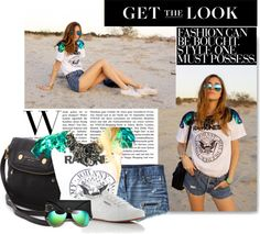 """""""get the look blonde salad"""" by stacy-gustin ❤ liked on Polyvore"""