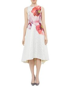 cf34c9d31 Ted Baker Jenn Expressive Pansy Jacquard Dress Women - Bloomingdale s