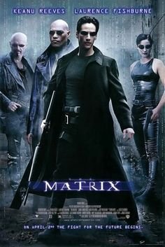 """""""The Matrix"""" - A computer hacker learns from mysterious rebels about the true nature of his reality and his role in the war against its controllers. (1999)"""